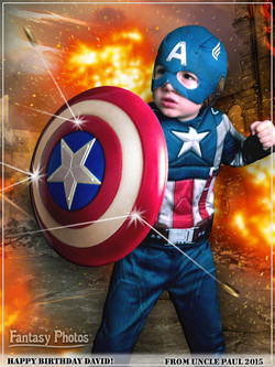 Fantasy Photos- Capt America
