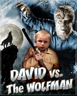 Fantasy Photos-David vs Wolfman