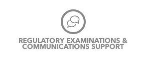 RIA Regulatory Examinations and communications support