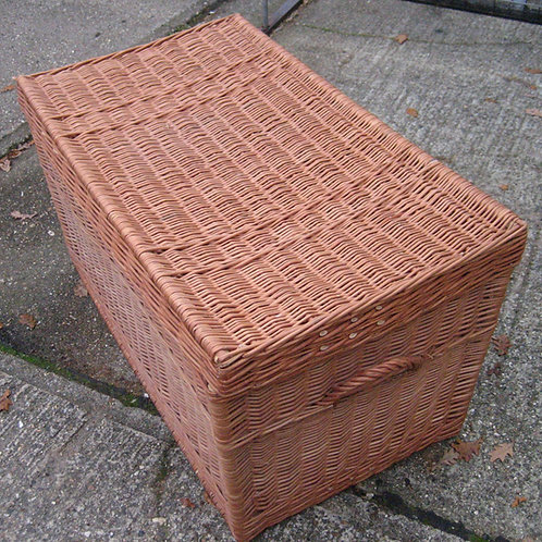 A Very Large Wicker Work Basket