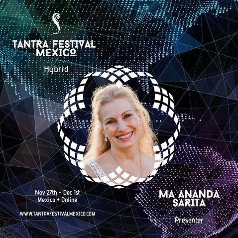 Ma Ananda Sarita, Tantra Festival Mexico, Presenter, Tepoztlan