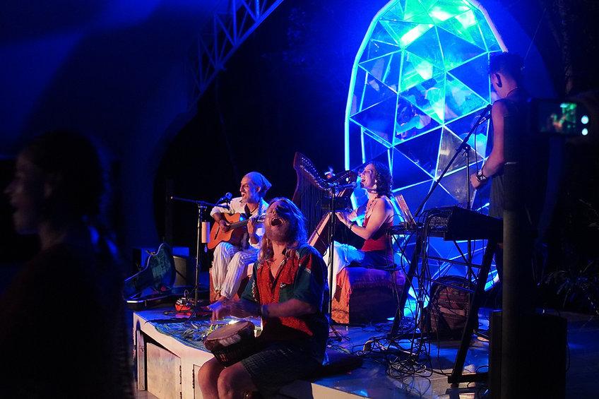 Concert, Tantra Festival Mexico 2020, Kirtan