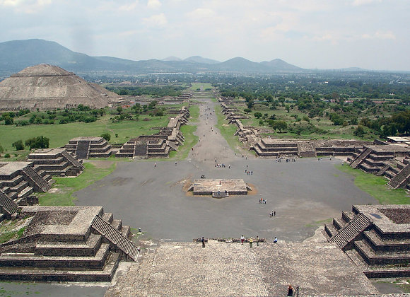 Teotihuacan (The City of the gods)