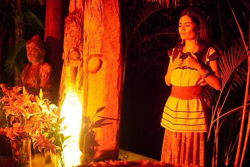 Cacao Ceremony, Tantra Festival Mexico, Tepoztlan