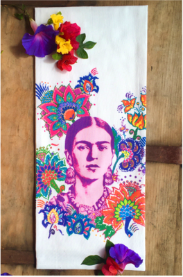 Frida - Original Art Dishtowel
