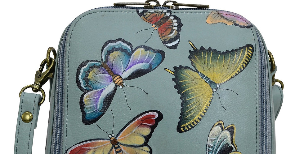 *Butterfly Heaven Zip Around Travel Organizer, by Anuschka