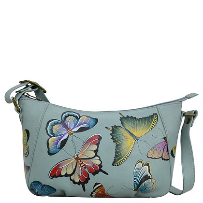 * Butterfly Heaven Everyday Shoulder Hobo, by Anuschka