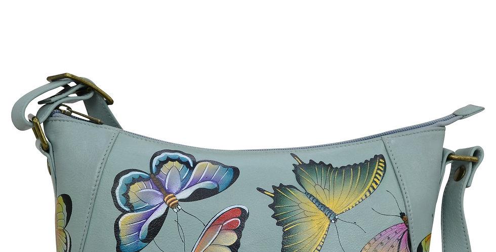 * Butterfly Heaven Everyday Shoulder Hobo, by Anuschka