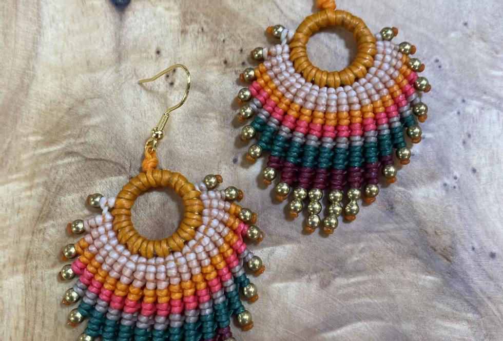 Kingfisher - Handmade Greek Earrings