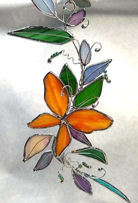 Orange Butterfly Fantasy Spray