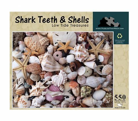 Shark Teeth & Shells, Puzzle