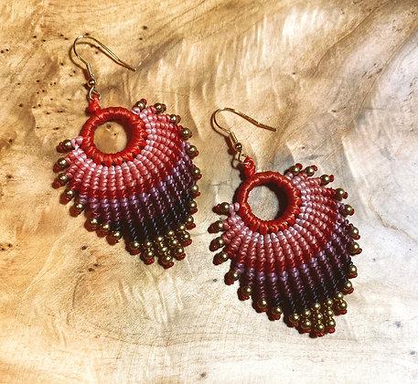 Opa! - Handwoven Greek Earrings
