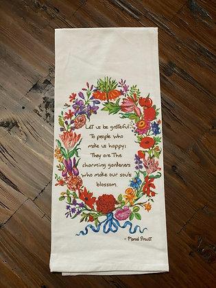 Charming - Original Art Dishtowel