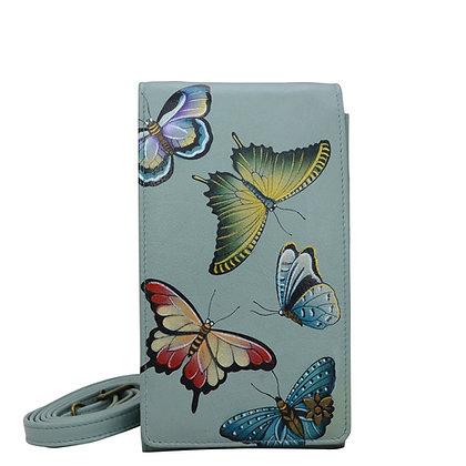 *Butterfly Heaven Smartphone Crossbody, by Anuschka