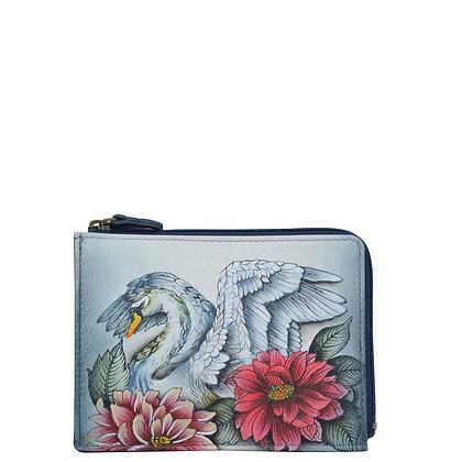 *Swan Song Key Zip Case, by Anuschka
