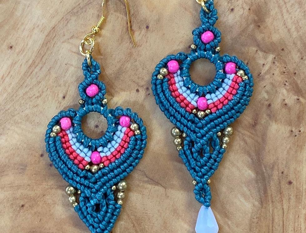 Majestic Marvel - Handmade Greek Earrings