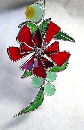 Flower Power (red bloom)