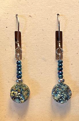 Druzy & Hematite Earrings