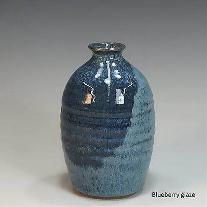 Bottle Vase, Blueberry