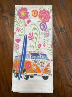 VW Bus - Original Art Dishtowel