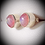 Thumbnail: Pretty in Pink Moonstone Studs