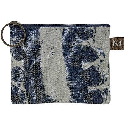 Blue/Grey Coin Purse, by Maruca Design