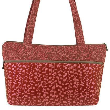 """""""Andie"""" Shoulder Bag in Sangria, by Maruca Design"""