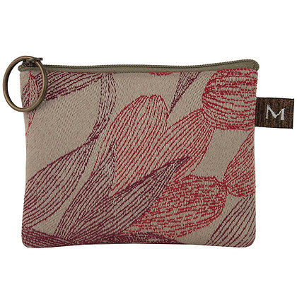 Ruddy Feathers Coin Purse, by Maruca Design
