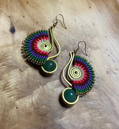 Daring - Handwoven Greek Earrings
