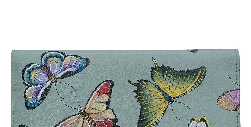 *Butterfly Heaven Three Fold Clutch, by Anuschka