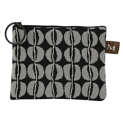 Grey/Back Coin Purse, by Maruca Design
