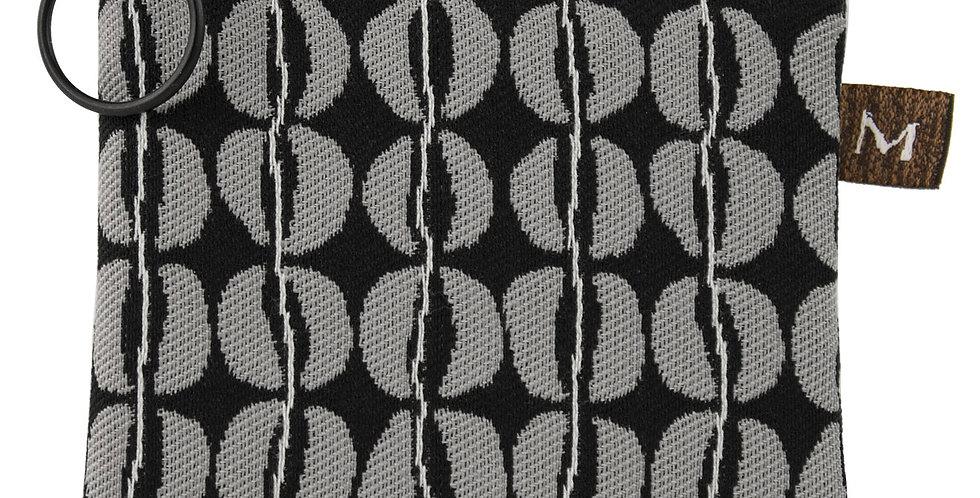 Grey/Back Coin Purse, by Maruca Design