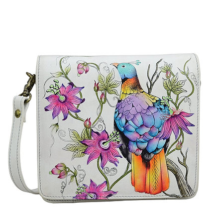 *Himalayan Bird Small Messenger Bag, by Anuschka