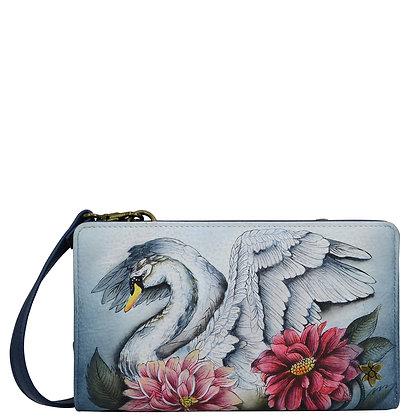 *Swan Song Organizer Wallet Crossbody