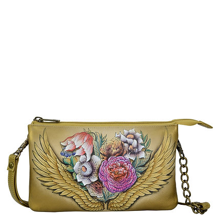 *Angel Wings Organizer Crossbody With RFID Protection, by Anuschka