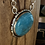 Thumbnail: Turquoise Cabochon & Sterling Silver Necklace
