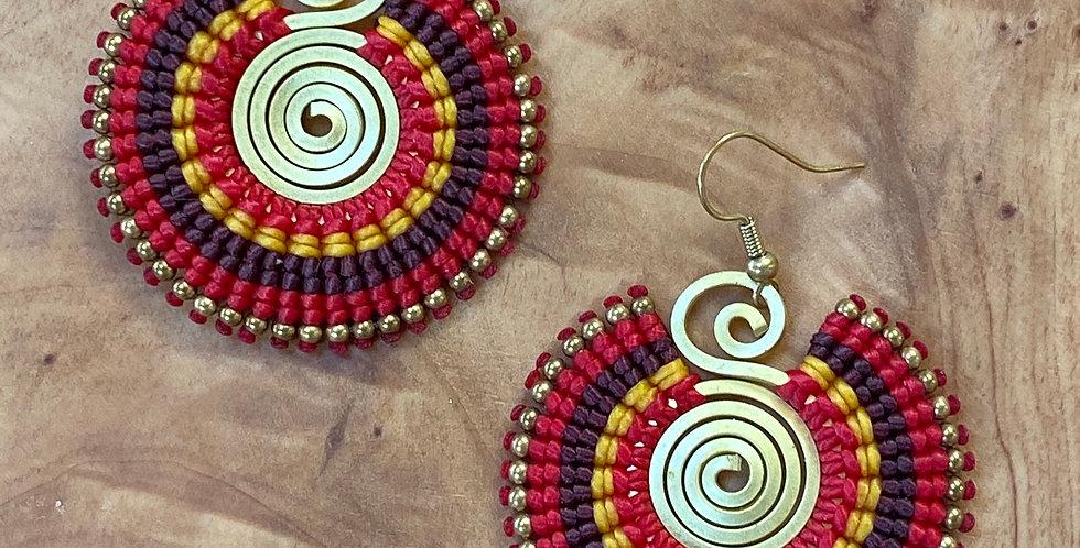 In Your Face - Handmade Greek Earrings