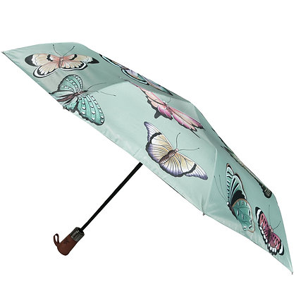 *Butterfly Heaven Auto Open/Close Printed Umbrella, by Anuschka