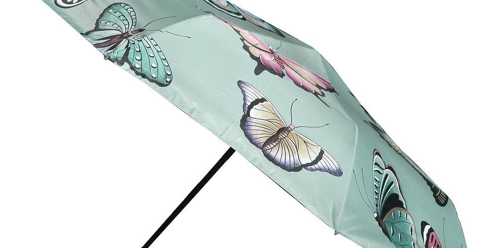 *Butterfly Heaven Auto Open/Close Printed Umbrella, by Anuschka