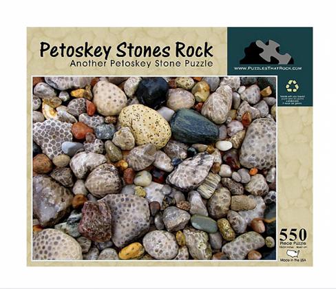 Petoskey Stones Rock, Puzzle