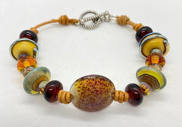 Glass Lampwork Bracelet