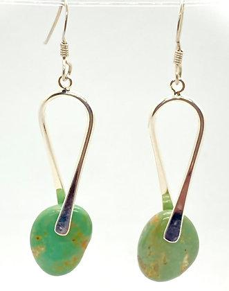 Turquoise Stone Dangles