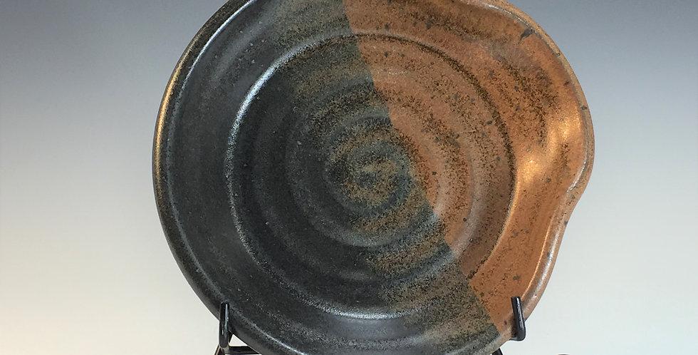 Kitchen Spoon Rest, Chicory Glaze