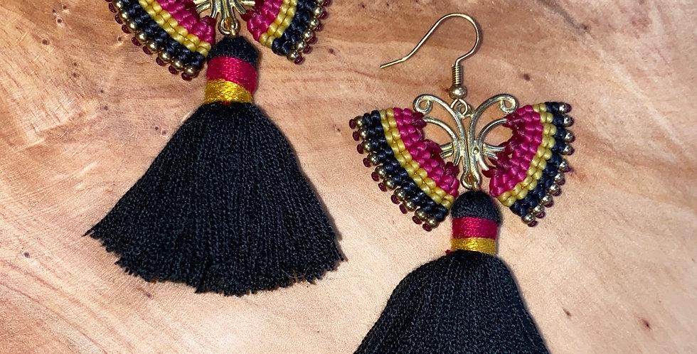 Night Angel - Handmade Greek Earrings