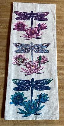 Dragon Fly - Original Art Dishtowel