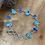Thumbnail: Boulder Opal and Turquoise Bezel Set Bracelet in Sterling Silver
