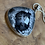Thumbnail: Dendritic Agate and Sterling Sliver Statement Pendant