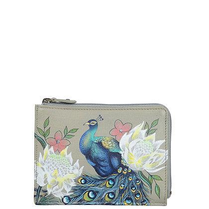 *Regal Peacock Key Zip Case, by Anuschka