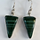 Thumbnail: Malachite Dangle Earrings