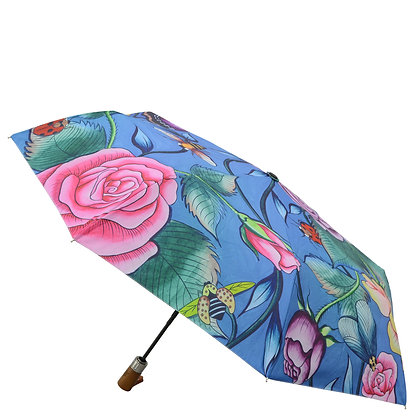 Roses d'Amour Printed Umbrella, by Anuschka